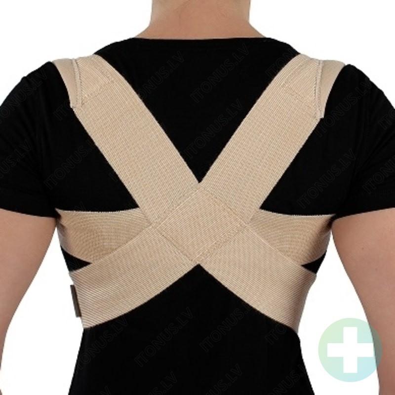 Stability stājas korektors plecu daļas fiksators medicīniska ortoze krustveidīga bandāža josta