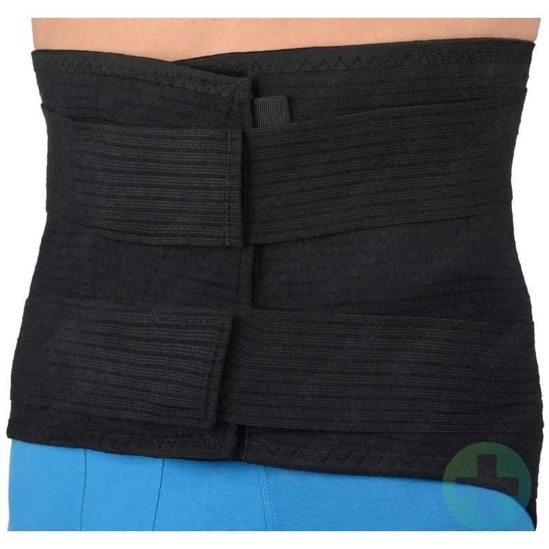 Long and strong muguras josta H 30cm bandāža ortoze jostasvietas fiksācijai ar lencēm un šinām pagarināta medicīniskā korsete
