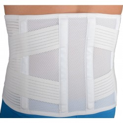 Extra comfort muguras josta H 27cm bandāža ortoze jostasvietas fiksācijai ar lencēm un 4 šinām medicīniskā fiksējoša korsete
