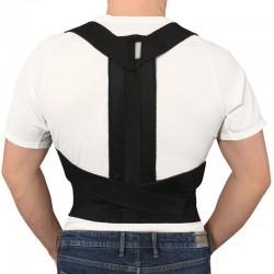 Extra strong stājas korektors medicīniska ortoze krustveidīga bandāža plecu daļas fiksators muguras josta