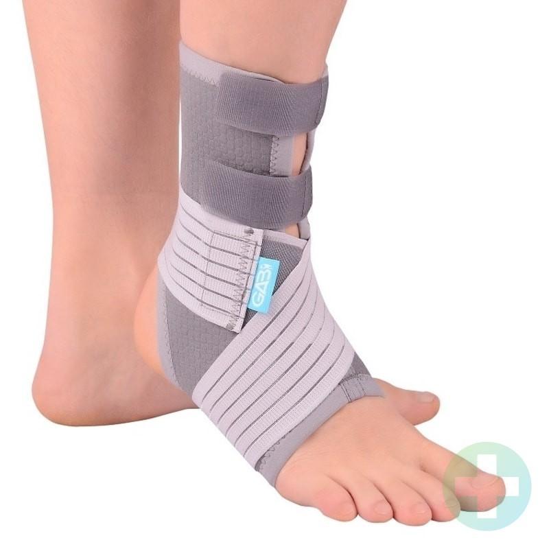 Premium comfort potītes ortoze pēdas locītavas fiksators medicīniskais apsējs sportam bandāža ar aizdari astotnieks