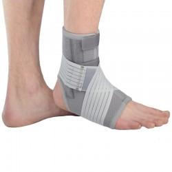 Lux pēdas potītes ortoze ar metāla stiprinājumiem locītavas fiksators medicīniskais apsējs sportam bandāža ar aizdari astotnieks