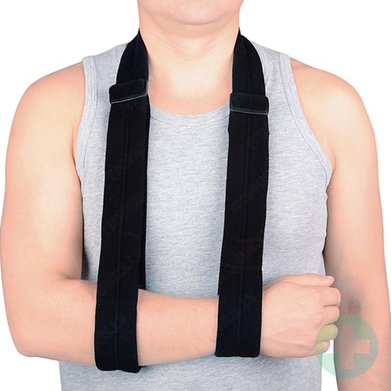 Comfort Dezo tipa apsējs medicīniskais balstošais fiksators rokas bandāža pastiprinājums regulējams